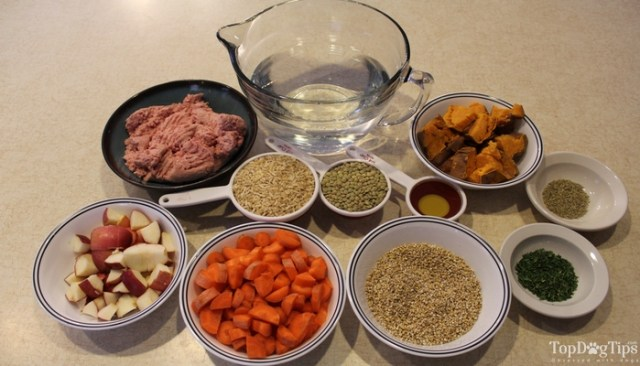Ground Turkey and Lentil Dry Dog Food Recipe