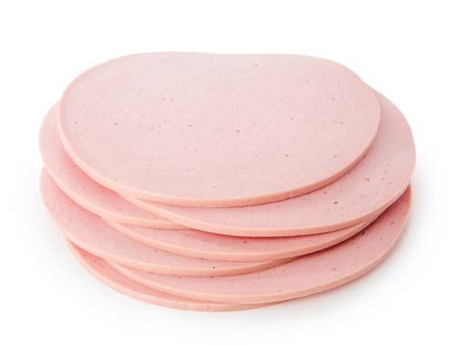 What does bologna meat sausage look like