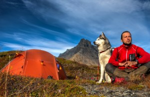 safety tips for camping with dogs