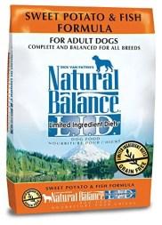 Natural Balance LID Sweet Potato and Fish Adult Formula