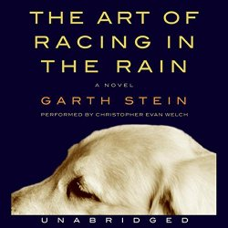 The Art of Racing in the Rain by Garth Stein; narrated by Christopher Evan Welch