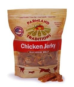 Farmland Traditions USA Made Chicken Jerky Dog Treats