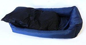 Extra Stuffed Polyfill Dog Pillow Bed