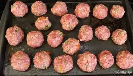 Homemade Doggy Meatballs Recipe