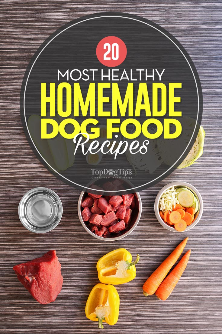 20 Most Healthy Homemade Dog Food Recipes Your Dogs Will Love