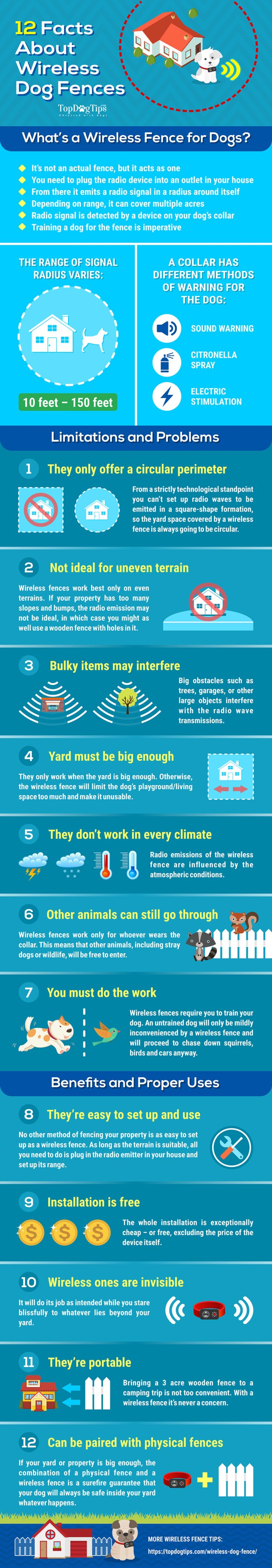 12 Pros and Cons of Wireless Dog Fence [Infographic]