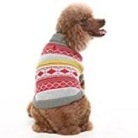 Expawlorer Knit Festive Dog Sweater