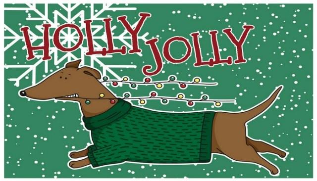 Dog Holiday Cards