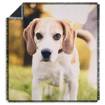 Picture It! Pet Personalized Woven Throw