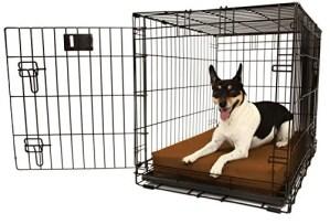 "Orthopedic 4"" Dog Crate Pad by Big Barker"