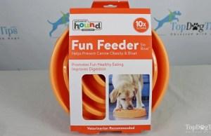 Outward Hound Kyjen Slo Bowl Slow Feeder for Dogs