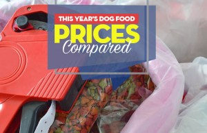 Comparing This Year's Dog Food Prices