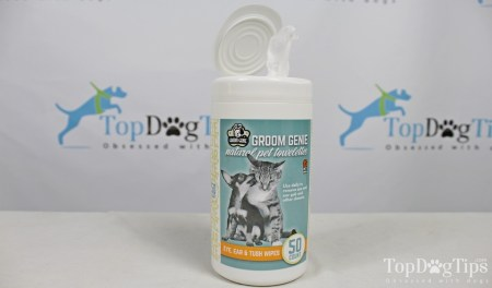 Groom Genie Natural Pet Towelettes The Best Wipes for a Dog's Overall Cleaning