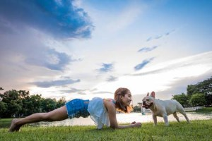 Dog as a training partner