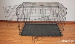OxGord Paws & Pals Folding Metal Dog Crate