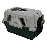 Penn Plax Dark Green Pet Carrier Deluxe