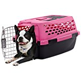 You & Me Relaxing Refuge Dog Kennel Pink