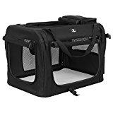 X-Zone Pet 3-Door Folding Soft Dog Crate