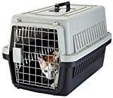 Yvettevans Portable Airline Approved Top-Load Pet Kennel