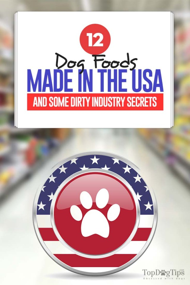 Real Dog Food Made in USA Brands That Are Actually Made in America
