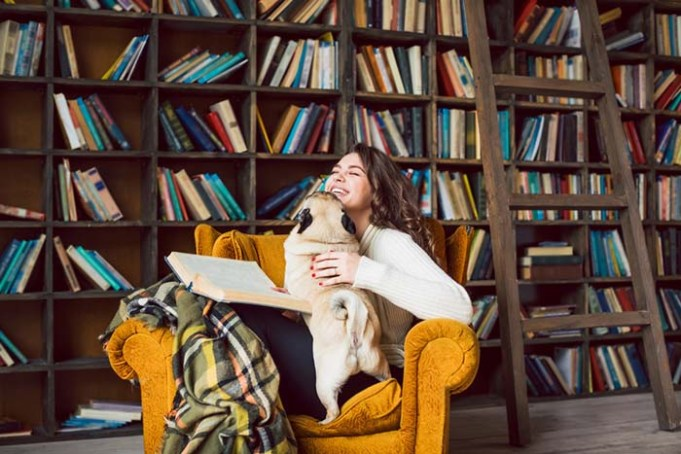 Research Proves That Therapy Dogs Can Help Stressed-Out Students