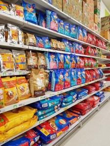 Dog Food Selection