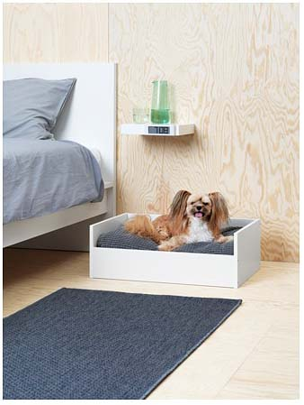 Lurvig Pet Bed with a Pad