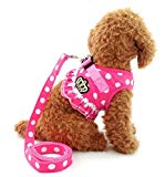 SELMAI Puppy and Cat Dog Vest Harness