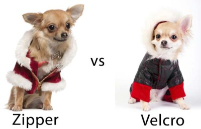 Dog Winter Coat - Zipper vs Velcro
