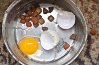 Eggs for dogs are one of the most nutritious human foods (raw or cooked)
