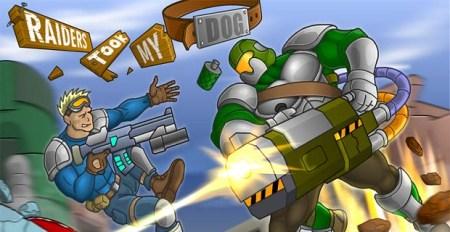 Raiders Took My Dog Free Dog Game Online