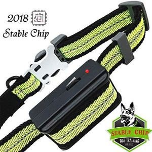 DUYKQEM Dog Bark Collar Stable Chip