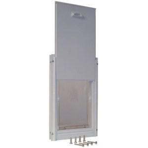 Ideal Pet Products Deluxe Aluminum Pet Door with Frame