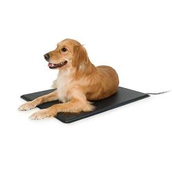 Outdoor heated pad from K&H Pet Products.