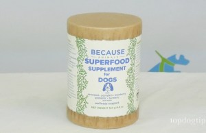 Because Animals Superfood Supplement for Dogs