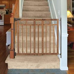 Banister and Stair Gate with Dual Installation Kit by Summer Infant