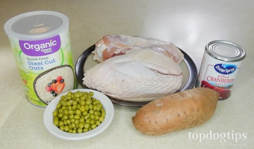 leftover Christmas dinner for dogs