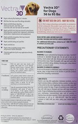 Vectra 3D Purple Flea and Tick Treatment for Dogs by Vectra 3D