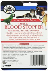 Quick Blood Stopper Powder for Dogs by Four Paws