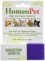 HomeoPet Relief for Digestive Upsets in Dogs by HomeoPet