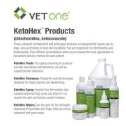 Ketohex Antibacterial Antiseptic Wipes for Dogs by VetOne