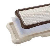 Richell Paw Trax Mesh Training Tray for Puppies by Richell