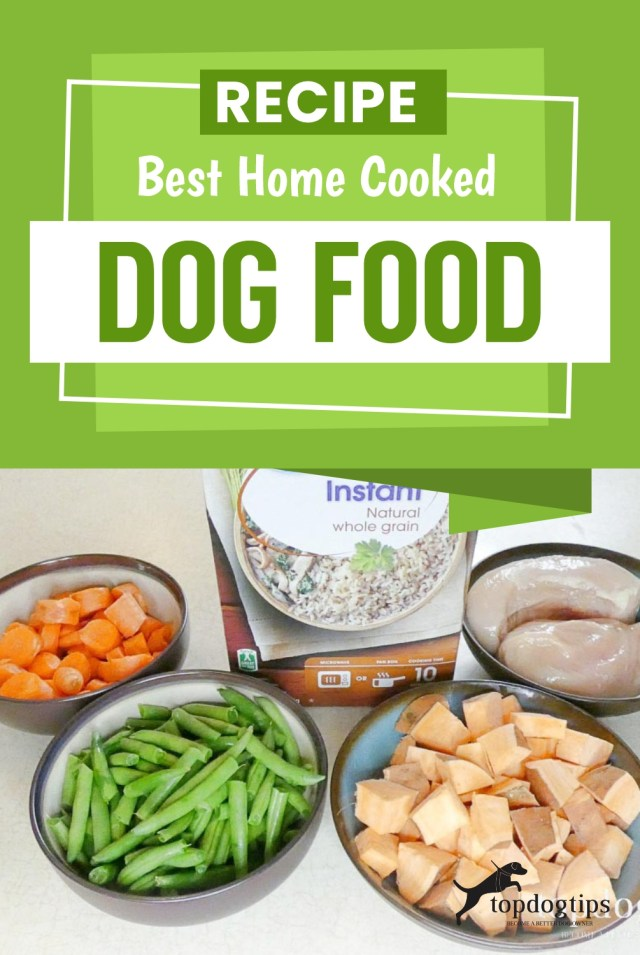 Recipe - Best Home Cooked Dog Food