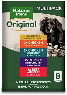 Natures Menu Dog Food Pouch Multipack