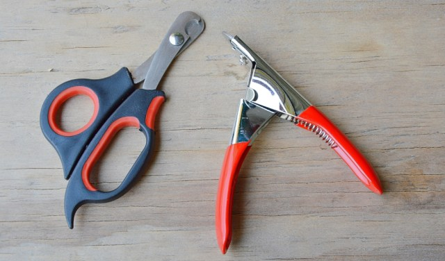 how to sharpen dog nail clippers