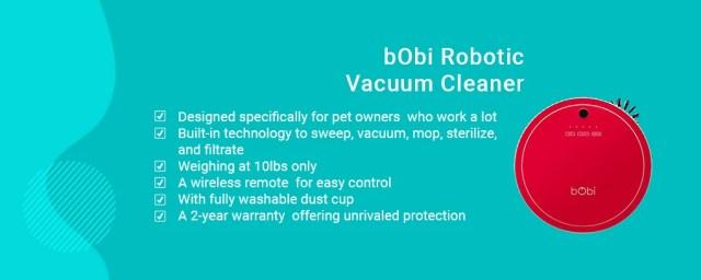 bObi Robotic Vacuum Cleaner