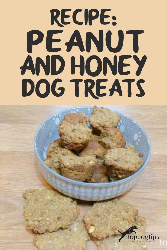 Peanut and Honey Dog Treats