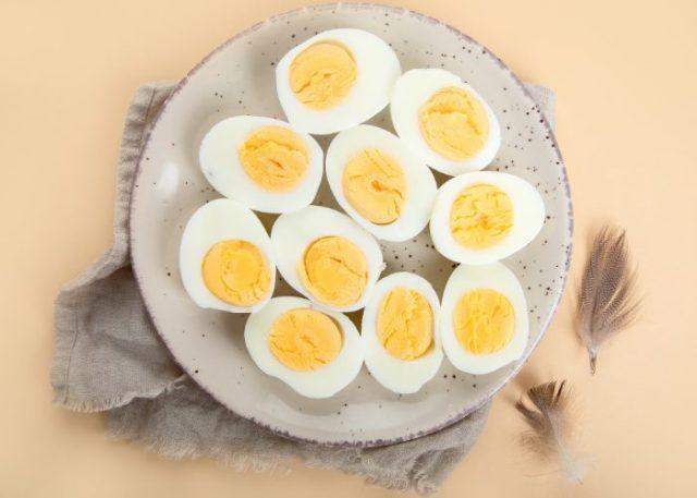 Los beneficios de los huevos duros para perros