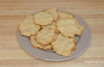 Peanut Butter and Cornmeal Dog Treats