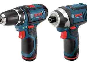 Bosch CLPK22-120 - 12 V Max 2-Tool Lithium-Ion Cordless Combo Kit